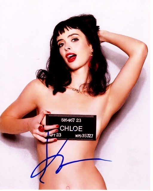 Krysten Ritter Signed Don't Trust The B---- In Apartment